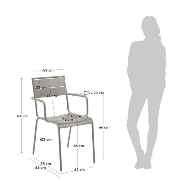 Chaise Advance - dimensions