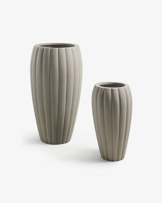 Set Lisa de 2 cache-pots